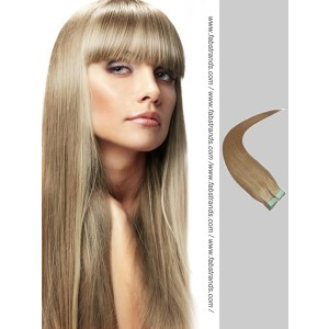 Ash Brown Tape in Hair Extensions