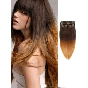 Dark Brown Silky Straight 100 Remy Human Hair
