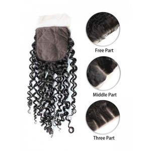 Malaysian Curly Silk Top Closure