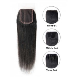 Malaysian Straight Lace Top Closure
