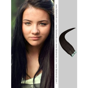 Natural Black Tape in Hair Extensions