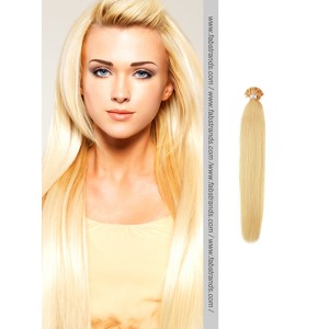 Wheat Blonde Nail Tip Pre Bonded Hair Extensions