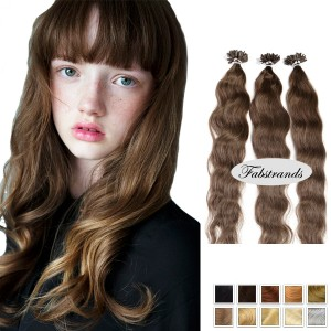 Chestnut Fusion Wavy Hair Extension
