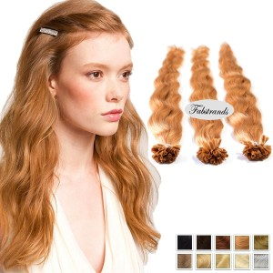 Light Brown Bonding Hair Extensions