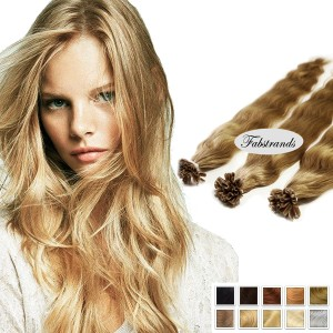 Strawberry Blonde Fusion Hair Extensions Body Wave