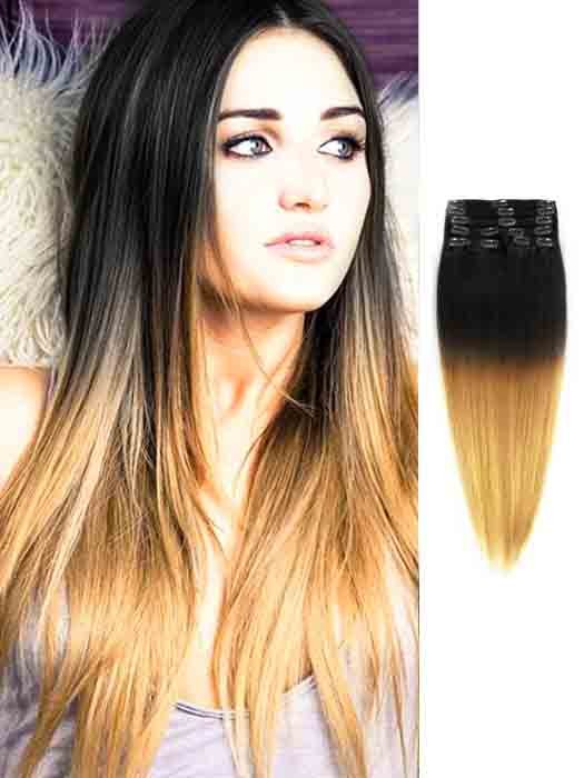Blonde Hair With Black Extensions 30