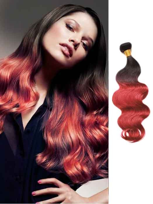 Burgundywavycheapombrehairextensions1g pmusecretfo Choice Image