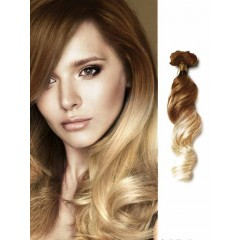 100 Remy Human Hair Loose Wave Brown to Blonde