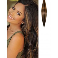 Body Wave Light Brown in Black Hair Extensions