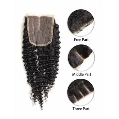 Indian Curly Lace Top Closure