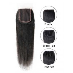 Peruvian Straight Lace Top Closure