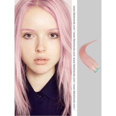 Pink Tape in Hair Extensions