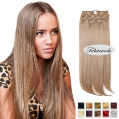 Ash Blonde Clip In Hair Extensions