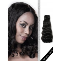 Black Natural Wave Remy Hair Weaves