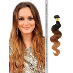 Black to Brown Ombre Body Wave Weaves