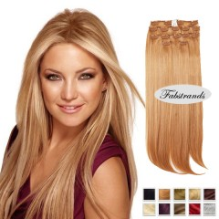 Light Brown Clip In Hair Extensions