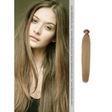 Ash Brown Nail Tip Pre Bonded Hair Extensions