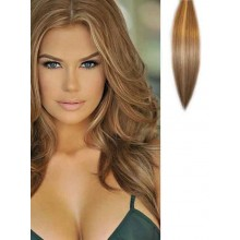 Light Blonde Highlights Clip in Hair Extensions