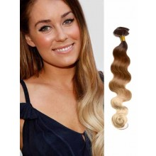 Three Tone Body Wave Remy Human Hair Extensions