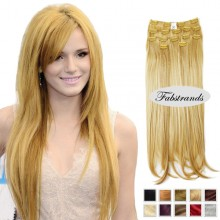 Strawberry Blonde Clip In Hair Extensions