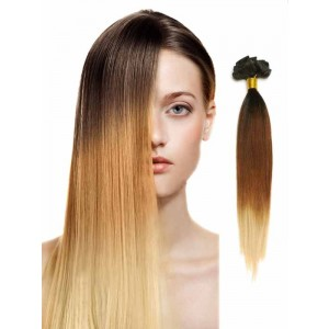 100 Remy Human Hair Silky Straight ThreeTtone