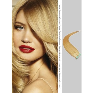 Golden Blonde Tape in Hair Extensions