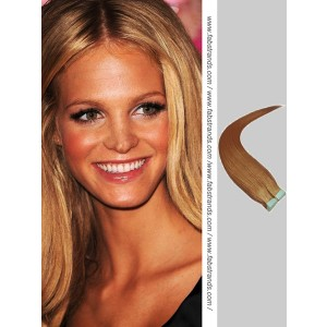 Golden Brown Tape in Hair Extensions