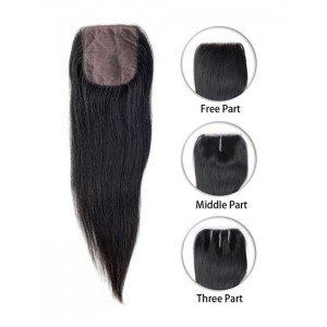 Malaysian Straight Silk Top Closure