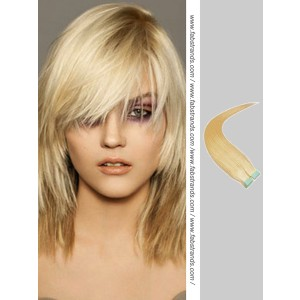 Wheat Blonde Tape in Hair Extensions