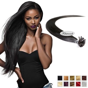 Black Fusion Hair Extensions