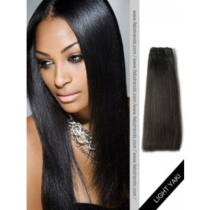 Black Light Yaki Remy Hair Weaves