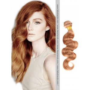 Light Brown Body Wave Remy Hair Weaves