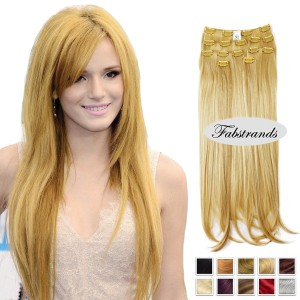 Strawberry Blonde Clip In Hair Extension