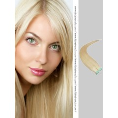 Bleach Blonde Tape in Hair Extensions