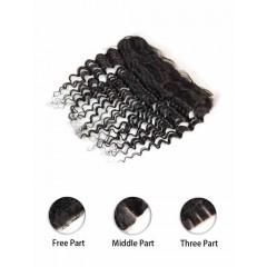 Indian Deep Wave Lace Frontal