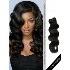 Black Body Wave Remy Hair Weaves