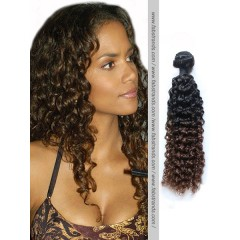 Black to Brown Ombre Kinky Curly Weave