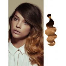 Brown Body Wave Ombre Hair Extensions