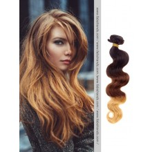 Black to Brown Body Wave Ombre Hair Weaves