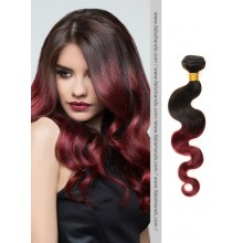 Black to Burgundy Body Wave Remy Hair Weaves