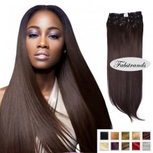 Dark Brown Clip Hair Extensions