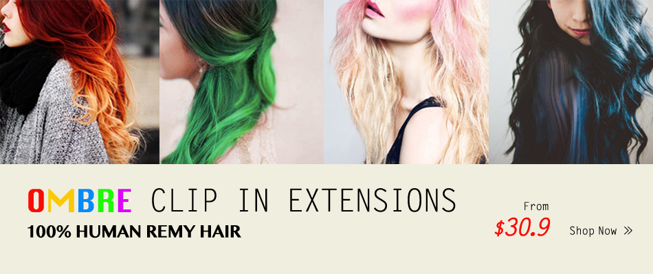 Clip in Hair Extension deals