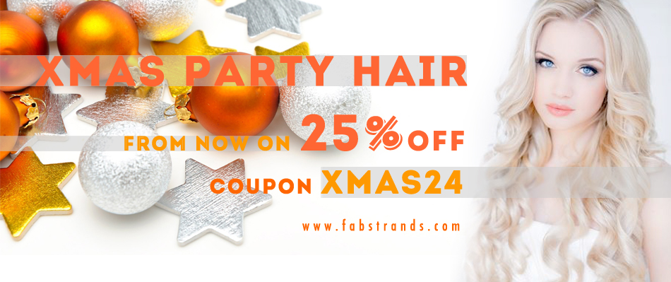 Clip in Hair Extension xmas deals